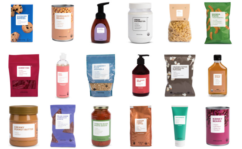 Brandless goes back to basics