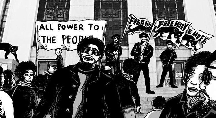 Black Panthers, Lives Matter Exhibition at Brass'Art